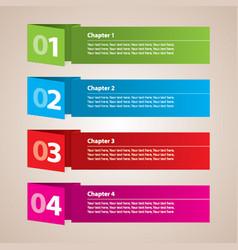 Modern stripes business poster vector