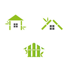 Bamboohouse vector