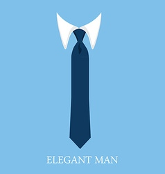 Elegant man vector