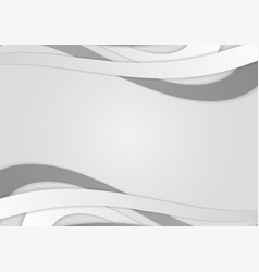 background with white and gray lines abstract vector image vector image