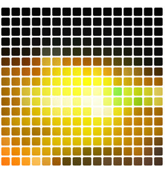 Black brown yellow green rounded mosaic vector