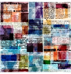 Imitation of newspaper vector image