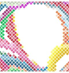 Mosaic Line vector image