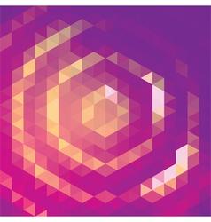 Purple Halo vector image vector image