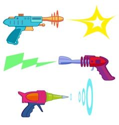 Ray gun vector image