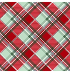 Red green gray diamond chessboard background vector