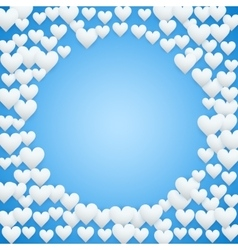 Blue valentines day background vector