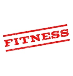 Fitness watermark stamp vector