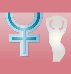 Goddess venus vector