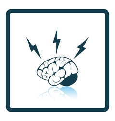 Icon of brainstorm vector