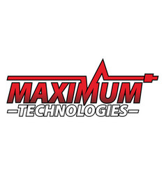 maximum technologies vector image vector image