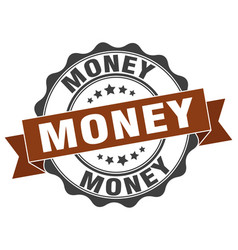 Money stamp sign seal vector