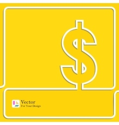 Money bank icon vector