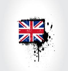 Britain flag vector