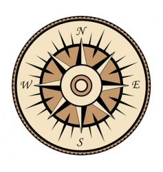 compass symbol vector image