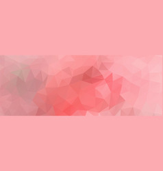 Polygon background light pink wide screen vector
