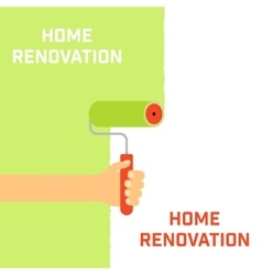 Home renovation concept vector
