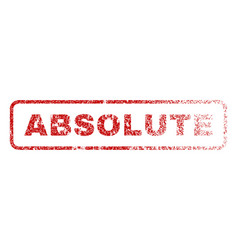 Absolute rubber stamp vector