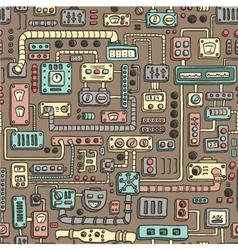 Appliances seamless pattern vector