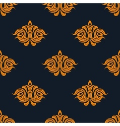 Arabesque damask style seamless pattern vector