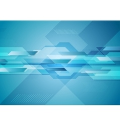 Blue shiny hi-tech motion layout background vector