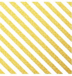 gold glittering lines pattern on white vector image