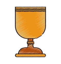 Isolated religion cup design vector