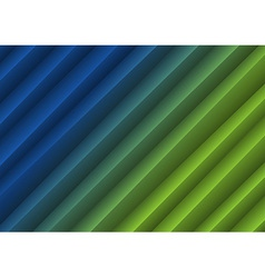 Background creased layout blue green vector