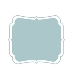 frame vintage isolated icon design vector image