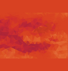 polygon background passionate red vector image vector image