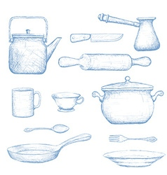 Kitchenware stock vector