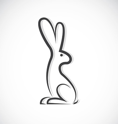 image of an rabbit design vector image vector image