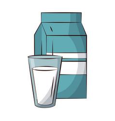 milk icon image vector image vector image