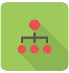 network icon vector image vector image