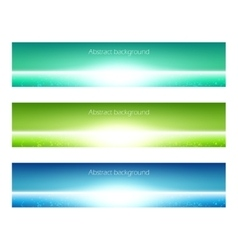 Set of banner vector image vector image