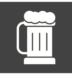 Pint of beer i vector