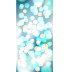 Light blue bokeh background made from white vector image