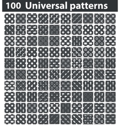 Universal patterns set vector