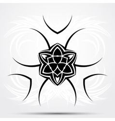 Abstract tribal tattoo vector