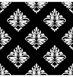 Arabesque seamless floral pattern vector