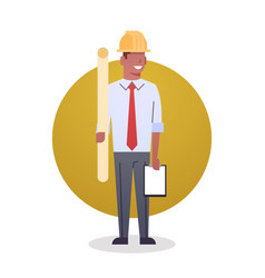 Builder man icon engeneer occupation arcitect vector