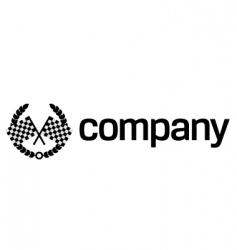 finish flag logo vector image