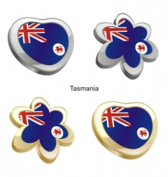 flag of Tasmania vector image