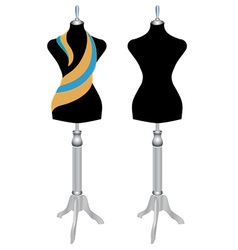 Mannequin sewing vector