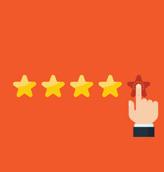 Customer reviews rating classification concept vector