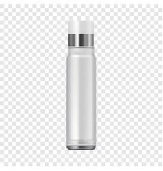 Spray tube icon realistic style vector