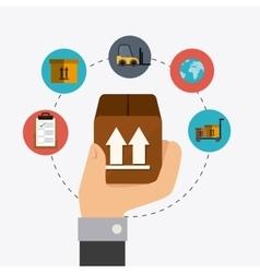 Deliverytransport and logistics business vector