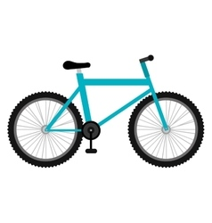 Mountain bike icon on white background vector