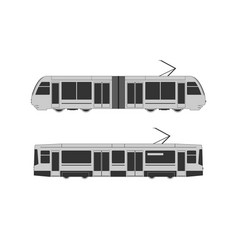 Tramway set vector