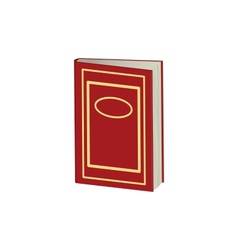 Red book vector